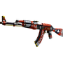 StatTrak™ AK-47 | Bloodsport (Factory New)