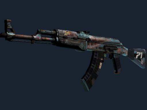 Скин StatTrak™ AK-47 | Колымага (Немного поношенное)