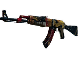 StatTrak™ AK-47 | The Empress (Battle-Scarred)