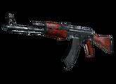 AK-47 | Красный глянец, После полевых испытаний, 490.88$