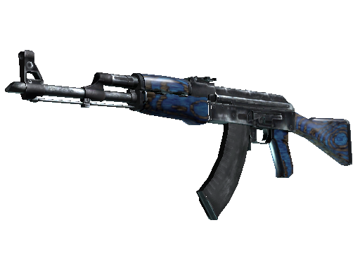 AK-47 | Blue Laminate Minimal Wear