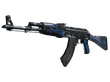 AK-47 Blue Laminate