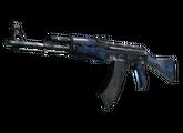 AK-47   Синий глянец, Прямо с завода, 257.44$