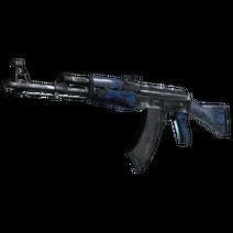 StatTrak™ AK-47 | Blue Laminate (Factory New)