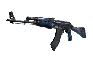 Stattrak Trade Ak 47 Blue Laminate Minimal Wear