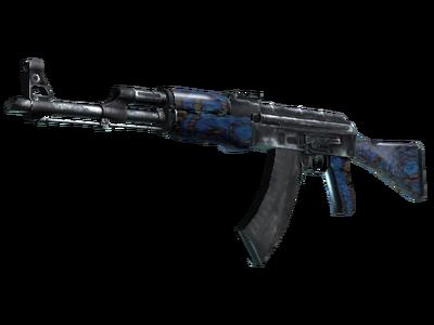AK-47 | Синий глянец (После полевых испытаний)