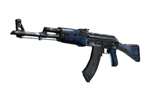 AK-47 | Blue Laminate (Well-Worn) Prices