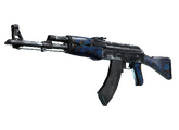 AK-47   Синий глянец, После полевых испытаний, 165.36$
