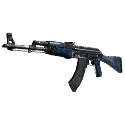 StatTrak™ AK-47 | Blue Laminate (Field-Tested)