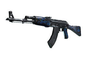 Stattrak Trade Ak 47 Blue Laminate Field Tested
