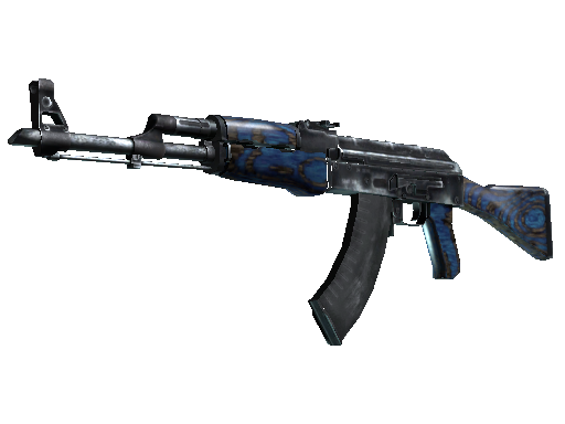AK-47 | Blue Laminate Field-Tested