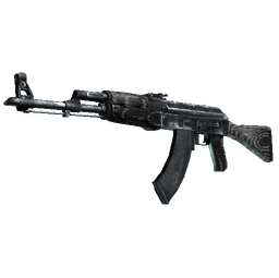 AK-47 | Black Laminate (Battle-Scarred)