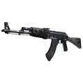 AK-47 | Black Laminate <br>(Battle-Scarred)