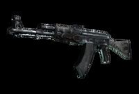 AK-47 | Black Laminate (Battle-Scarred)