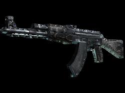 AK-47 | Черный глянец (Закаленное в боях)
