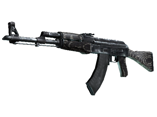 Souvenir AK-47 | Black Laminate (Well-Worn)