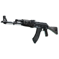 AK-47 | Black Laminate <br>(Well-Worn)
