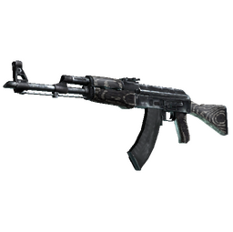 Souvenir AK-47 | Black Laminate (Factory New)