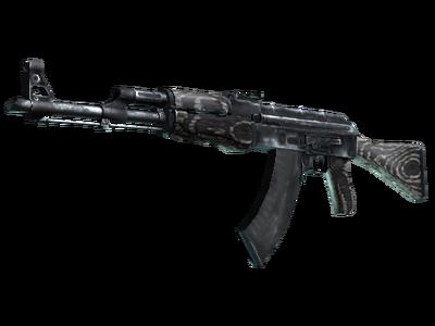 AK-47 | Черный глянец (Немного поношенное)