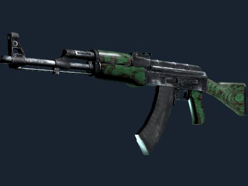 AK-47   Green Laminate (Well-Worn)