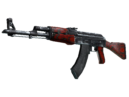 AK-47  |  Red Laminate  Battle-Scarred