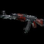 StatTrak™ AK-47 | Red Laminate (Battle-Scarred)