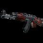 AK-47 | Red Laminate (Battle-Scarred)
