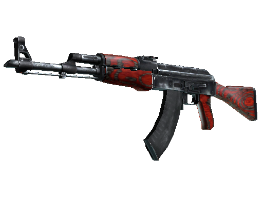 StatTrak™ AK-47 | Red Laminate (Battle-Scarred)