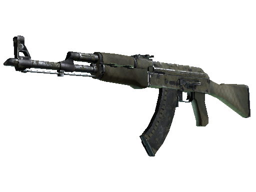 Скин AK-47 | Африканская сетка (Закалённое в боях)