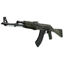 Souvenir AK-47 | Safari Mesh (Battle-Scarred)