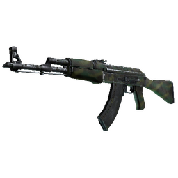 AK-47 | Jungle Spray (Battle-Scarred)