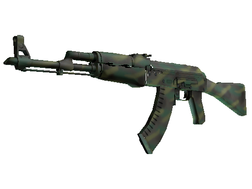 AK-47  |  Jungle Spray  Minimal Wear