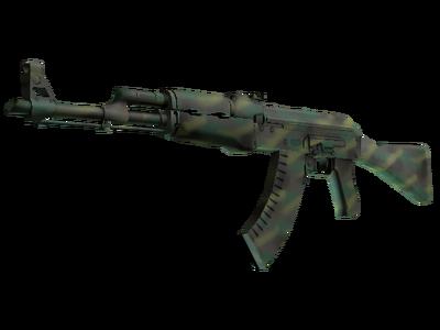 AK-47 | Цвет джунглей (Немного поношенное)