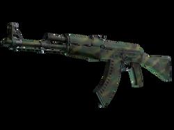 AK-47 | Цвет джунглей (Поношенное)