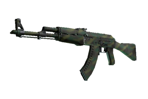 AK-47 | Jungle Spray (Well-Worn) Prices