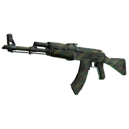 AK-47 | Jungle Spray (Field-Tested)
