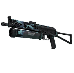 StatTrak™ PP-Bizon | Night Riot (Factory New)