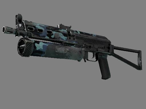 Скин StatTrak™ ПП-19 Бизон | Ночной бунт (Закаленное в боях)