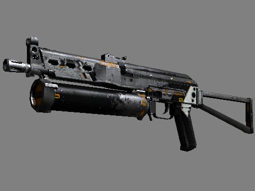 Скин ПП-19 Бизон | Осирис (Закаленное в боях)