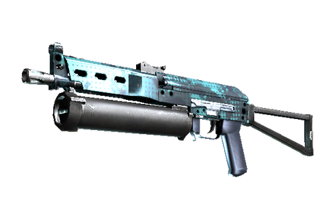 Buy StatTrak™ PP-Bizon | Cobalt Halftone (Factory New)