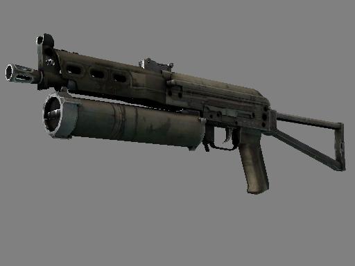 Скин ПП-19 Бизон | Жнец (Закалённое в боях)
