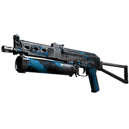 PP-Bizon | Blue Streak (Battle-Scarred)