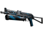 PP-Bizon | Blue Streak (Battle-Scarred)