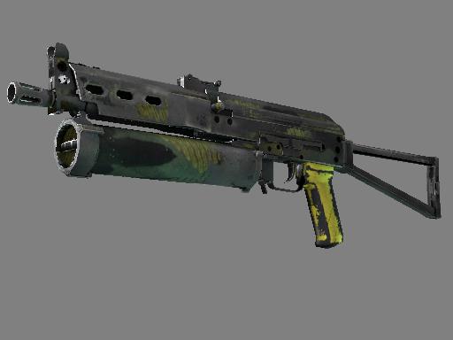 PP-Bizon | Jungle Slipstream (Battle-Scarred)