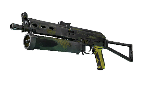 Buy StatTrak™ PP-Bizon | Jungle Slipstream (Battle-Scarred)