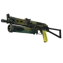 StatTrak™ PP-Bizon | Jungle Slipstream (Well-Worn)