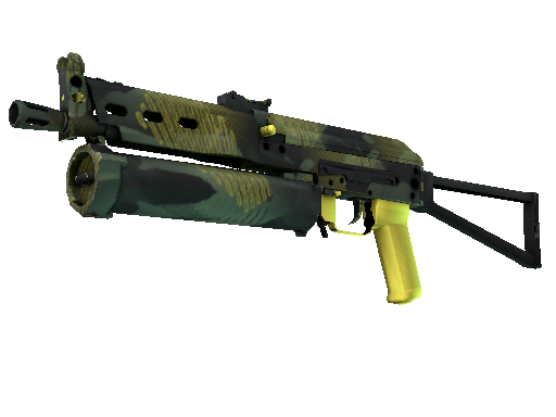 StatTrak™ PP-Bizon | Jungle Slipstream (Battle-Scarred)