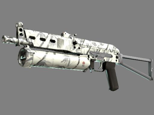 Скин ПП-19 Бизон | Бамбук (Немного поношенное)
