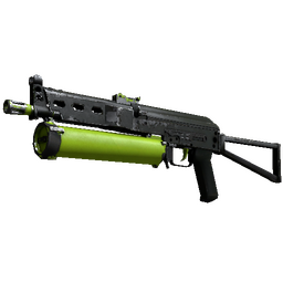 PP-Bizon | Chemical Green (Well-Worn)