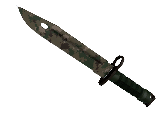 ★ Bayonet | Forest DDPAT (Battle-Scarred)